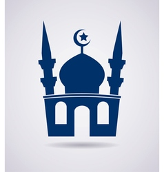 mosque icon vector image