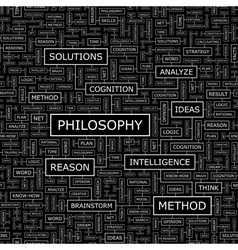 PHILOSOPHY vector