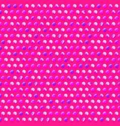 pink circle pattern vector image