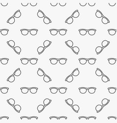 Sunglasses seamless pattern vector