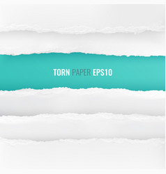 Torn paper edges background vector
