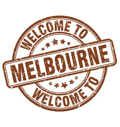 Welcome to melbourne vector