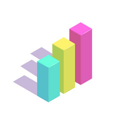 isometric simple icon concept vector image