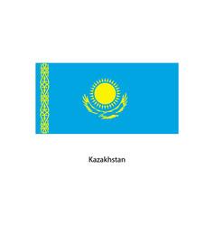 kazakhstan flag kazakhstan flag vector image vector image