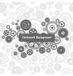 Seamless gearwheel mechanism background vector