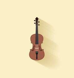 Abstract music instrument vector image vector image