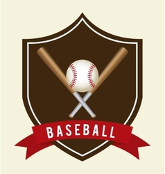baseball game vector image vector image