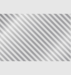 abstract white metal carbon fiber background vector image