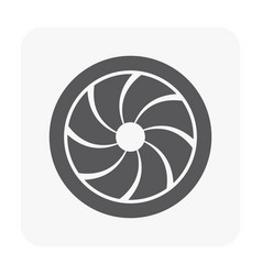 air conditioner grille vector image