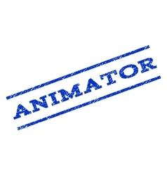 Animator Watermark Stamp vector