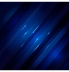 Blue abstract lines business background vector image