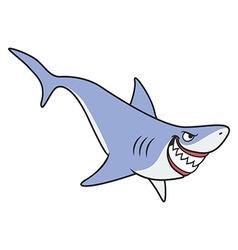 Cartoon shark vector