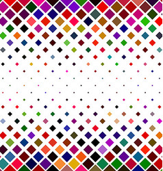 Colorful square pattern border background design vector image