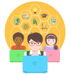 Computers for Education vector