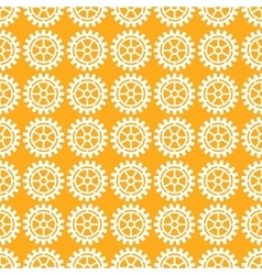 Gears icons seamless patterns vector