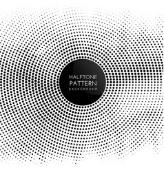 halftone dots pattern background vector image
