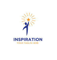 Inspirations star logo designs vector