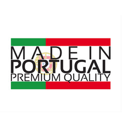 made in portugal icon premium quality sticker vector image vector image