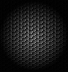realistic black carbon for creative design vector image vector image