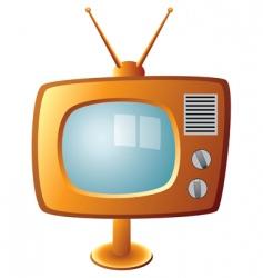 TV set vector image vector image