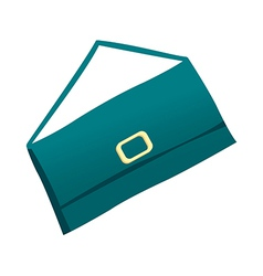 A hand bag is placed vector