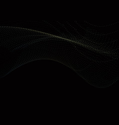 Black technology background consisting of colored vector