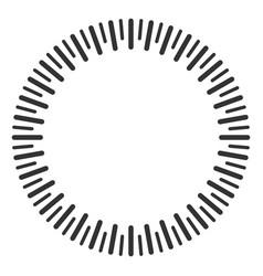 Circular ruler vector