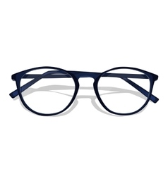 Dark blue glasses vector
