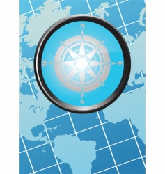 Geographical background vector