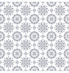 geometric light gray circles pattern vector image