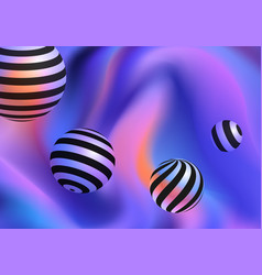 gradient background design vector image