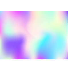Holographic abstract background vector
