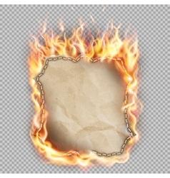 Hot fire banner EPS 10 vector