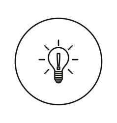 Light bulb Idea vector