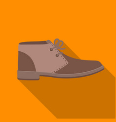 Oxfords icon in flat style isolated on white vector