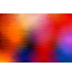 Pixel colorful background vector