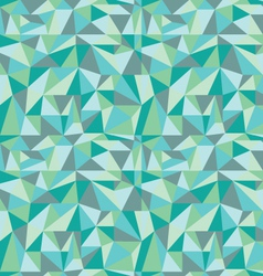 Seamless geometric ornament vector image