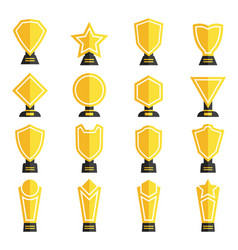 Trophy collection vector