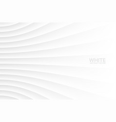 white abstract geometrical background vector image