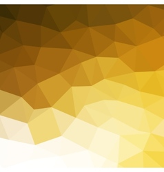 Abstract orange colorful geometric background vector image