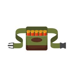 Bandolier for hunter vector