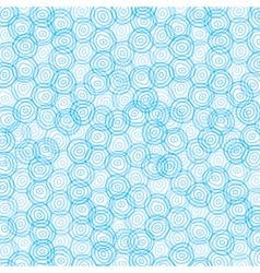 blue swirl circle background vector image vector image