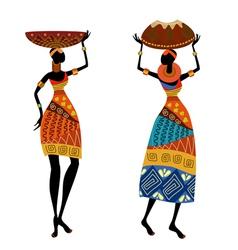 ethnic woman vector image vector image
