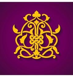 Abstract arabic symbol vector image