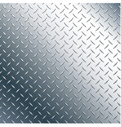 chrome diamond plate vector image