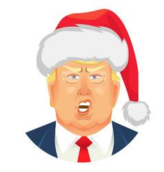 donald trump emoticons vector image