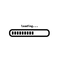 download sign load icon load system data load vector image