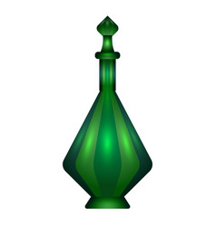 Elixir bottle icon cartoon style vector