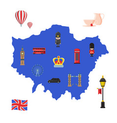 London sights vector