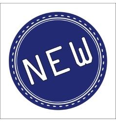 New Icon Badge Label or Sticke vector